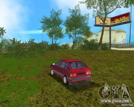 Lada Samara für GTA Vice City zurück linke Ansicht