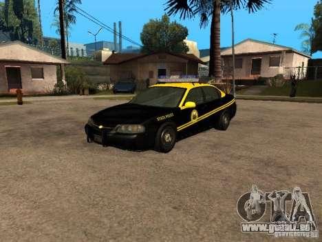 Chevrolet Impala Police 2003 pour GTA San Andreas