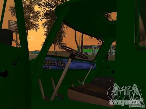 UAZ 39094 pour GTA San Andreas vue arrière