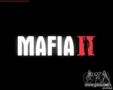 Bildschirme von Mafia 2 laden für GTA San Andreas fünften Screenshot