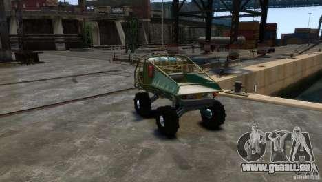 UAZ Goliath Prototype pour GTA 4 est un droit
