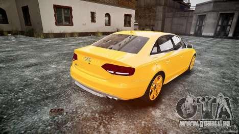 Audi S4 2010 für GTA 4 hinten links Ansicht