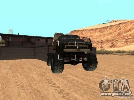 Walton Monster pour GTA San Andreas vue de droite