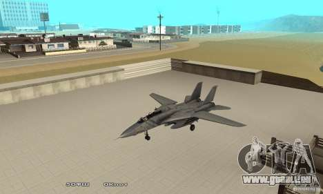 F14W Super Weirdest Tomcat Skin 1 pour GTA San Andreas