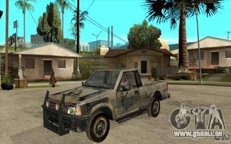 Rusty Mazda Pickup pour GTA San Andreas