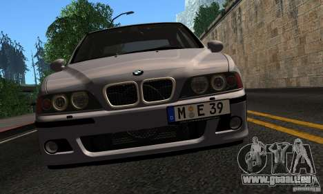BMW M5 E39 pour GTA San Andreas vue de côté