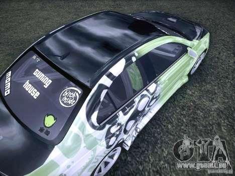 Mitsubishi Lancer Evolution X - Tuning pour GTA San Andreas vue de côté
