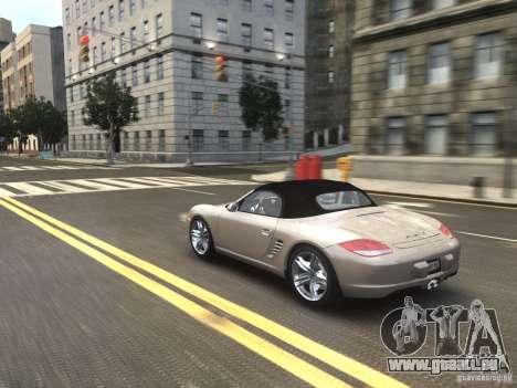 Porsche Boxster S 2010 EPM pour GTA 4 est une vue de l'intérieur