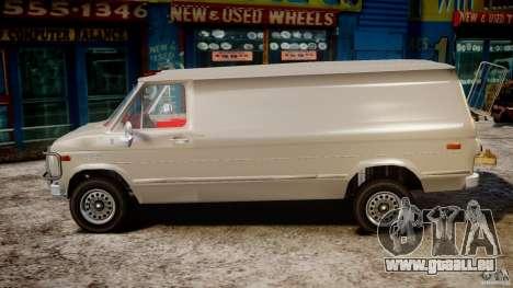 Chevrolet G20 Vans V1.1 pour GTA 4 est une gauche