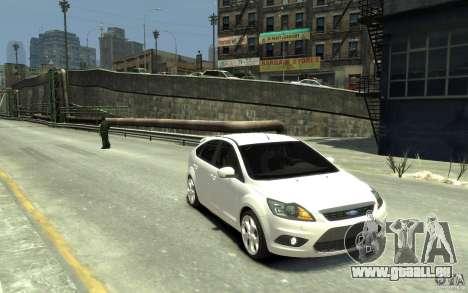 Ford Focus 2009 pour GTA 4 Vue arrière