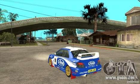 Subaru Impreza STi WRC wht1 pour GTA San Andreas vue de droite