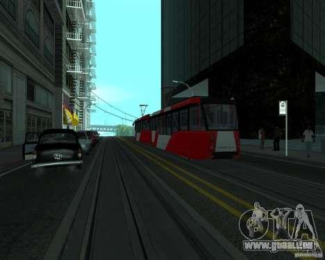 LM-2008 pour GTA San Andreas sur la vue arrière gauche