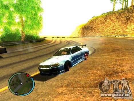 Nissan Skyline B324R pour GTA San Andreas