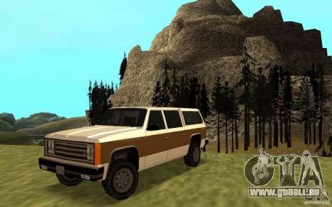 Eine zivile FBI Rancher für GTA San Andreas
