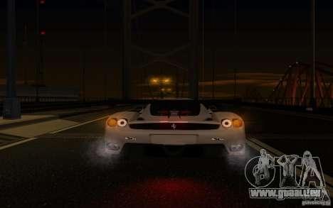 Ferrari Enzo ImVehFt pour GTA San Andreas vue de dessus