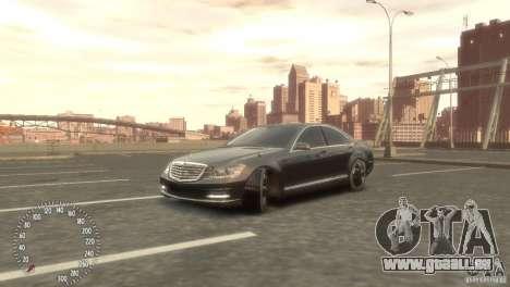 Mercedes-Benz S350 VIP pour GTA 4