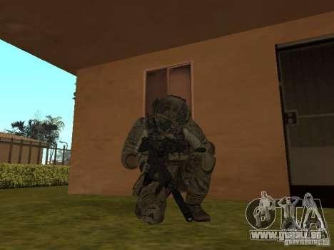 M4A1 avec ACOG de CoD MW3 pour GTA San Andreas deuxième écran