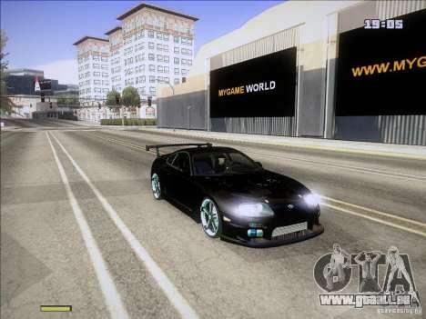 Toyota Supra v2 (MyGame Drift Team) pour GTA San Andreas