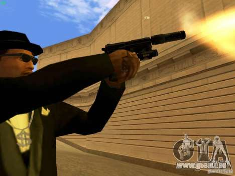 USP45 Tactical für GTA San Andreas siebten Screenshot