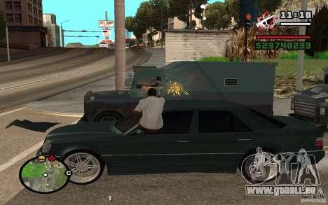 Schießen Sie aus dem Auto in GTA 4 für GTA San Andreas