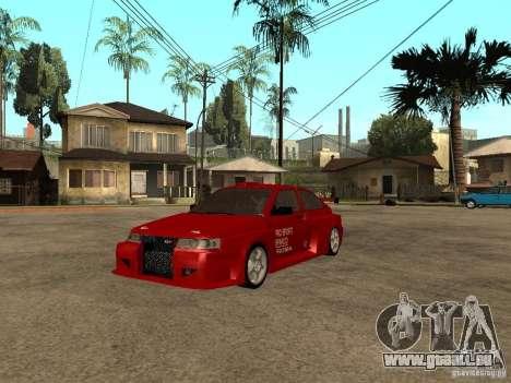 VAZ-2112 diable rouge pour GTA San Andreas