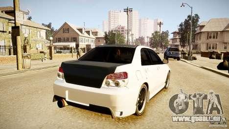 Subaru Impreza 2005 für GTA 4 hinten links Ansicht