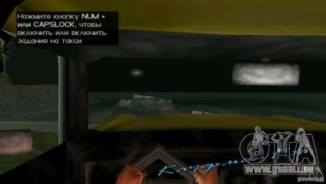 Blick aus der Kabine für GTA Vice City sechsten Screenshot