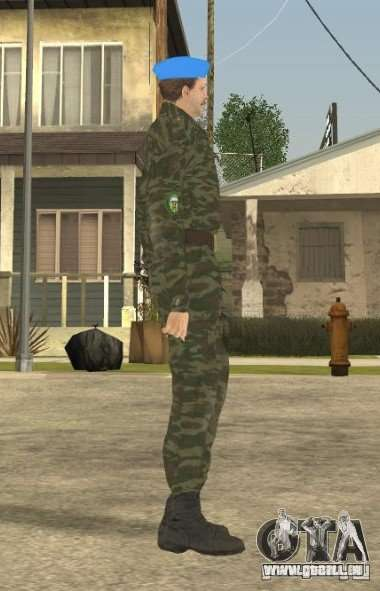 VDVšnik für GTA San Andreas zweiten Screenshot
