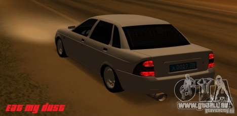 Lada Priora Light Tuning für GTA San Andreas linke Ansicht