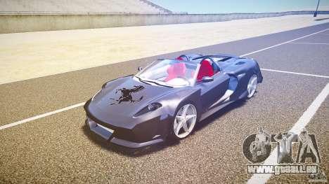 Ferrari F430 Extreme Tuning für GTA 4 linke Ansicht