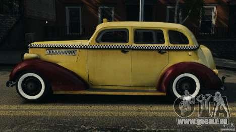Shubert Taxi für GTA 4 linke Ansicht