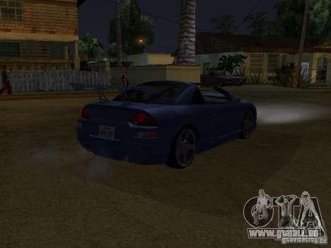 Mitsubishi Spyder für GTA San Andreas zurück linke Ansicht