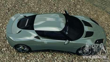 Lotus Evora 2009 v1.0 für GTA 4 rechte Ansicht