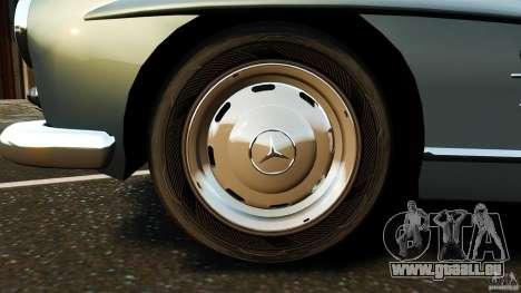 Mercedes-Benz 300 SL GullWing 1954 v2.0 pour GTA 4 est une vue de l'intérieur