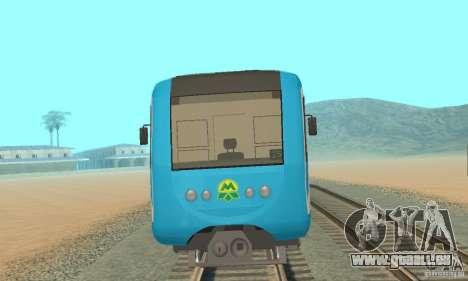 Metro 81-7021 für GTA San Andreas linke Ansicht