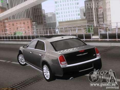 Chrysler 300 Limited 2013 pour GTA San Andreas vue intérieure