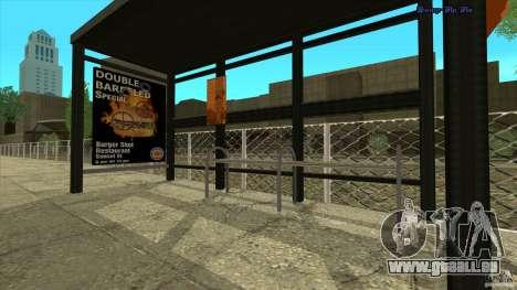 Arrêts de bus en HD pour GTA San Andreas
