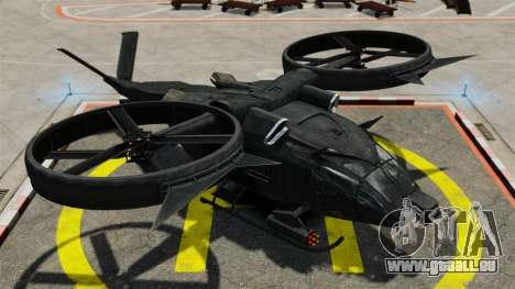 Hélicoptère de transport Samson SA-2 pour GTA 4 Vue arrière