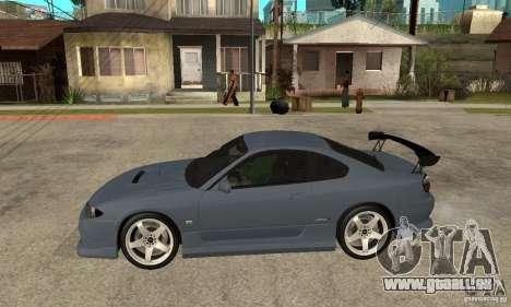Nissan Silvia S15 Tun pour GTA San Andreas sur la vue arrière gauche