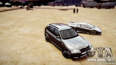 BMW X5M 2011 pour GTA 4 est un côté