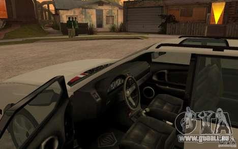 Schicht von GTA IV für GTA San Andreas rechten Ansicht