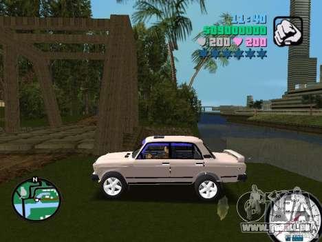 VAZ 2107 für GTA Vice City linke Ansicht