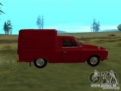 IZH 2715 1982 pour GTA San Andreas laissé vue