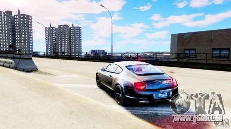 Bentley Continental SuperSports v2.5 für GTA 4 hinten links Ansicht