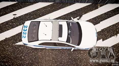 Honda Accord Type R NYPD (City Patrol 2322) ELS für GTA 4 rechte Ansicht