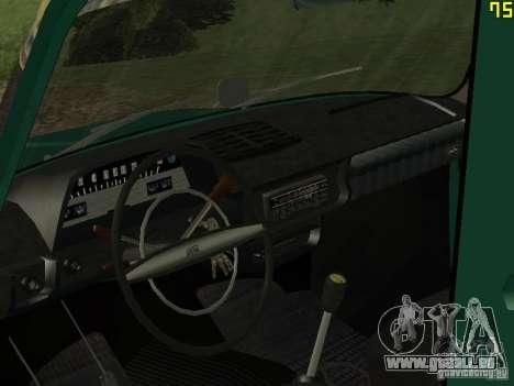 IZH 2715 für GTA San Andreas Rückansicht