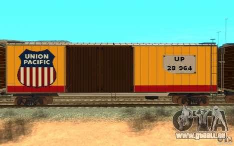 Union Pacific Reefer pour GTA San Andreas sur la vue arrière gauche