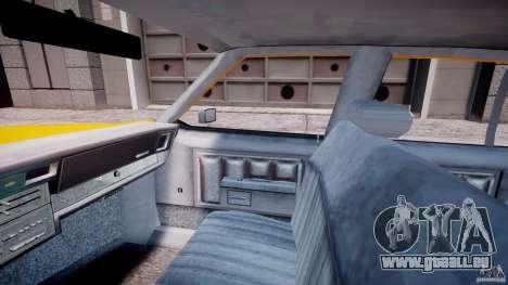 Chevrolet Impala Taxi 1983 [Final] für GTA 4 Innenansicht