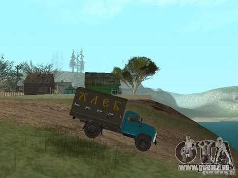 GAZ 52 pour GTA San Andreas laissé vue