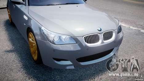 BMW M5 E60 2009 für GTA 4-Motor